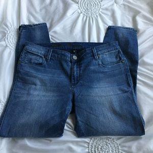 Kut from the Kloth Ellen ankle jeans